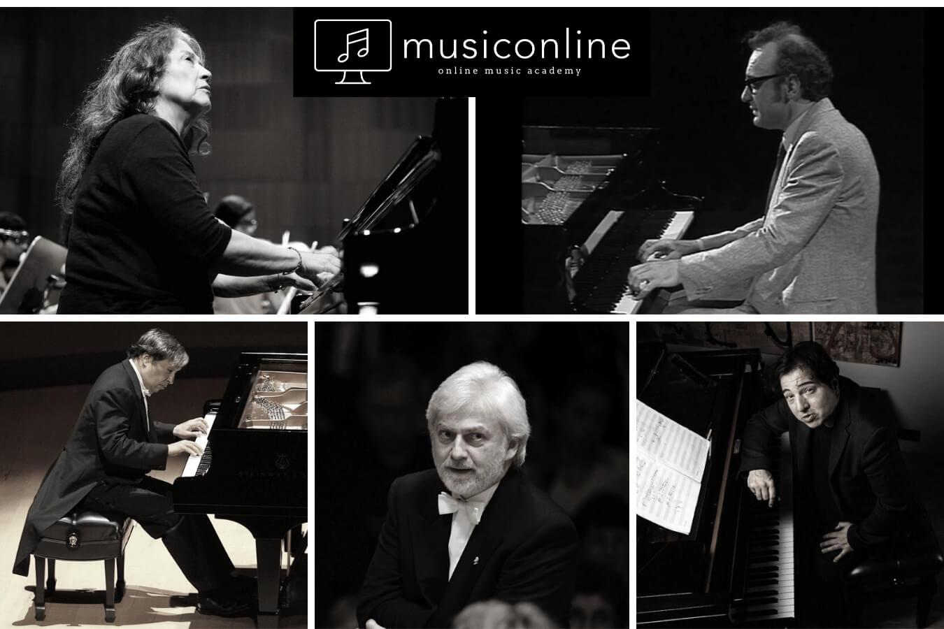 Dünyaca Ünlü Piyanistler
