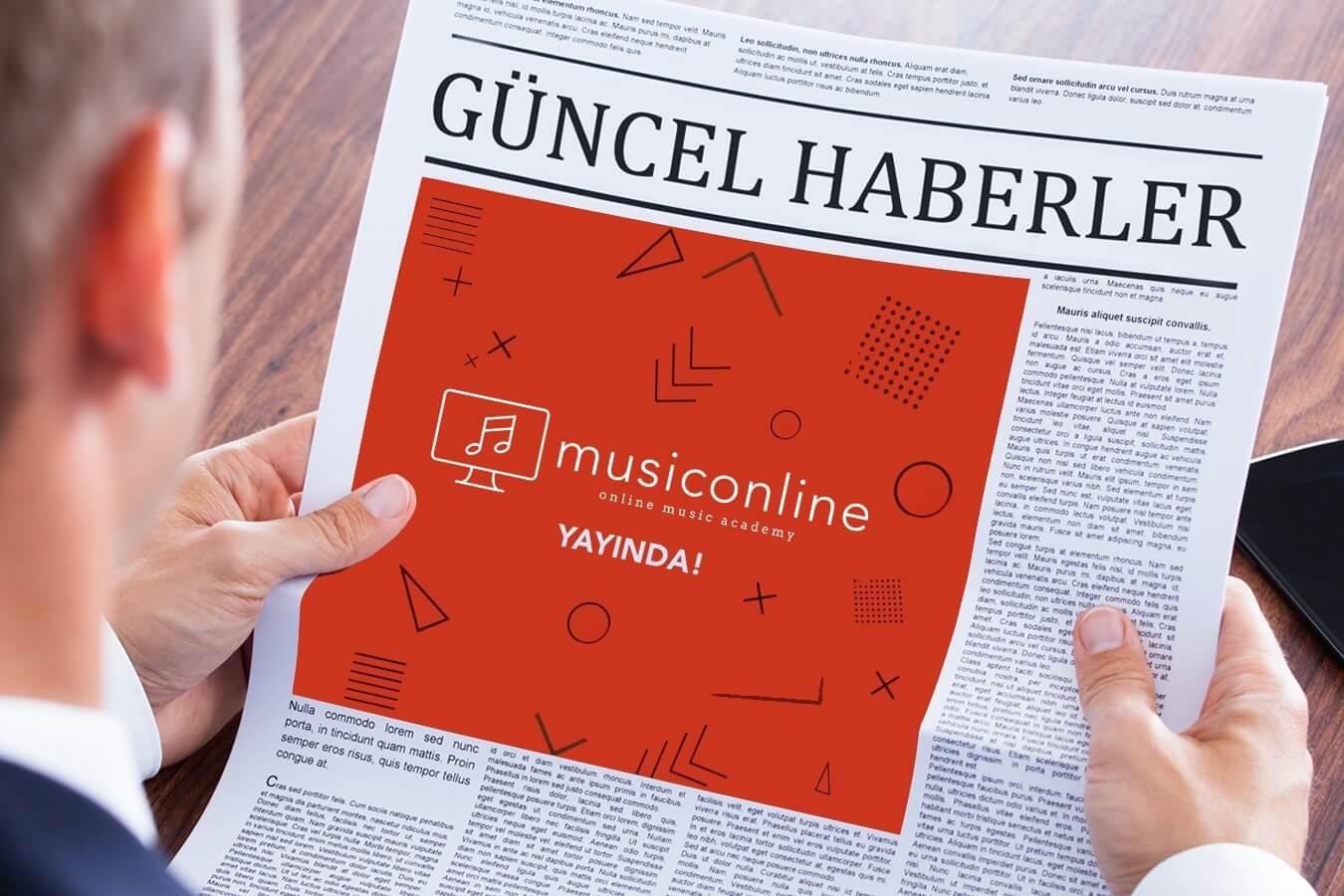 musiconline, bir ilk!