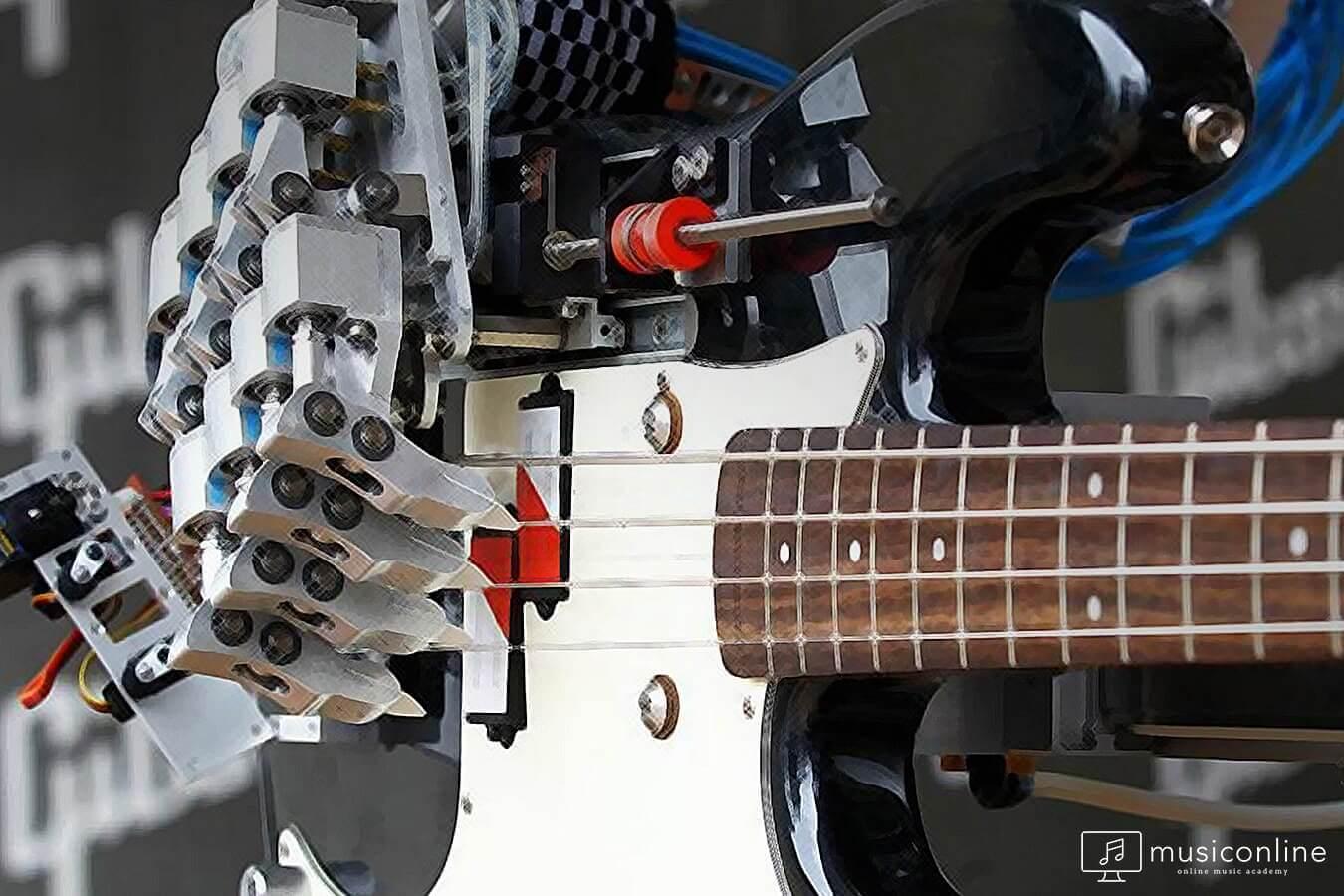 müzikte robot devrimi