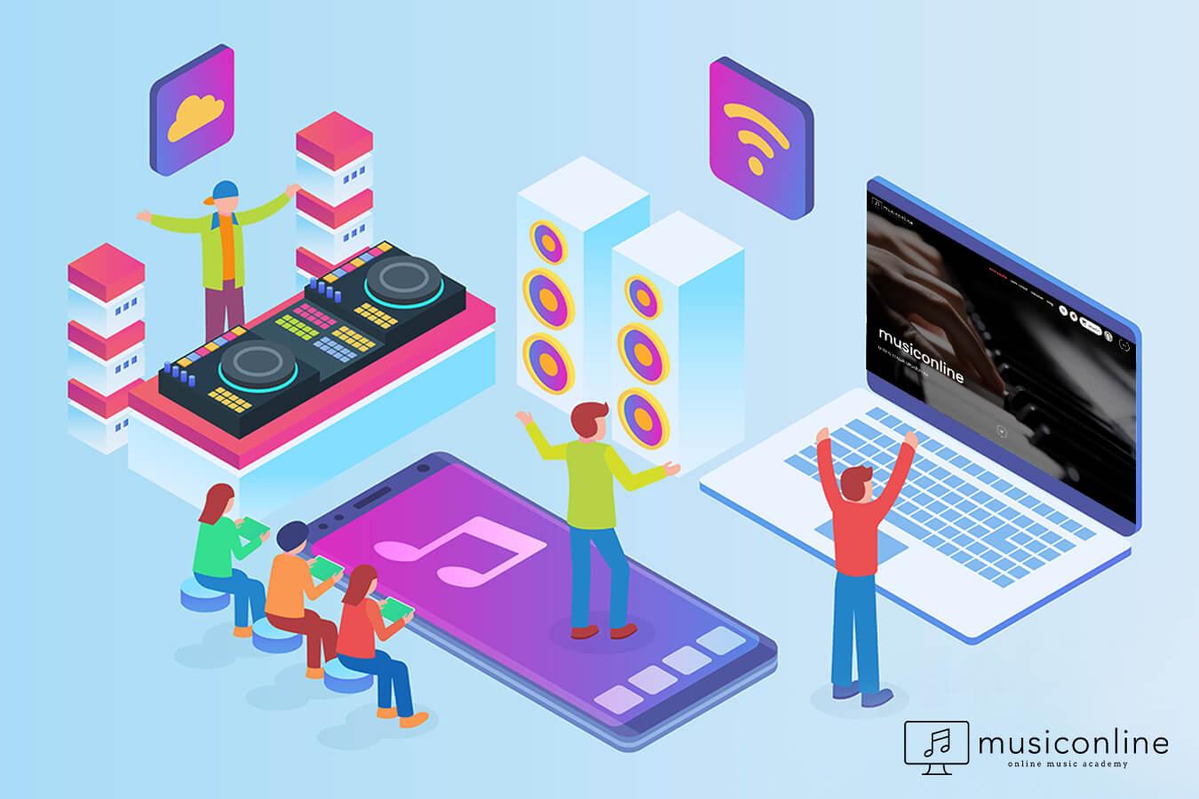 Online Müzik Dersleri Nedir?